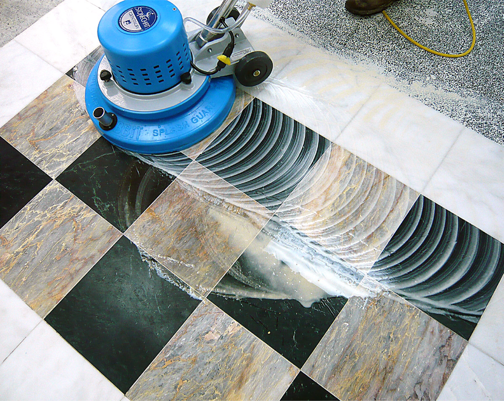 Marble Floor Professional Cleaning